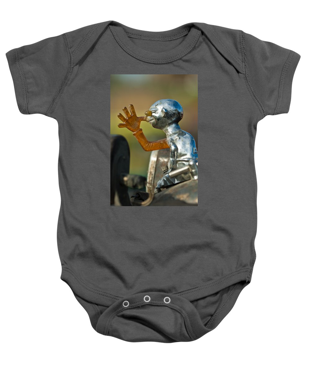 Indian Chopper Baby Onesie featuring the photograph Indian Chopper Ornament by Jill Reger
