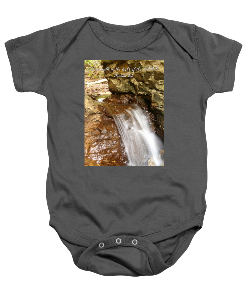 Water Baby Onesie featuring the photograph Inspirations 8 by Sara Raber