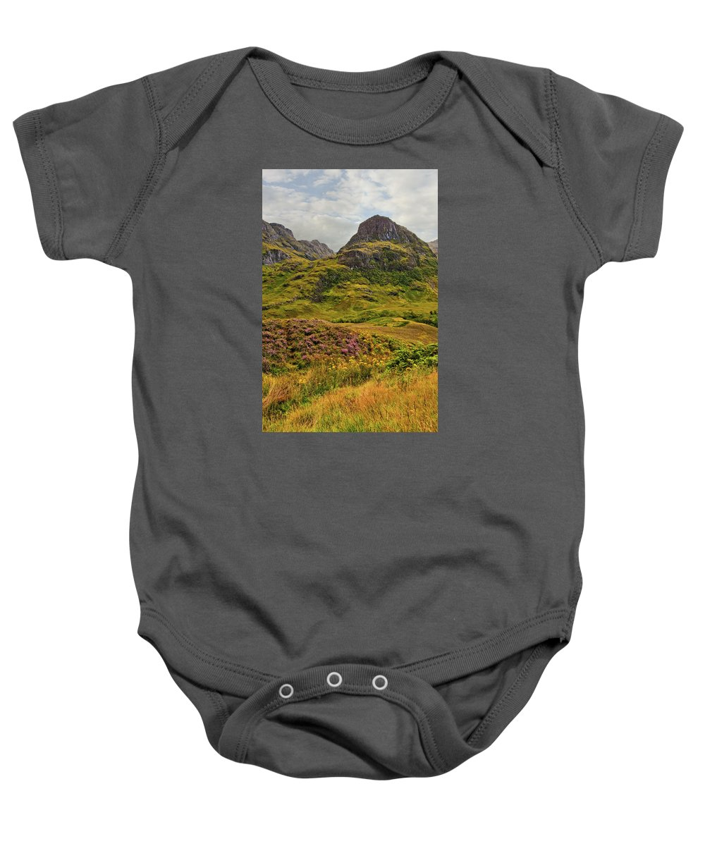 Landscape Baby Onesie featuring the photograph Isle Of Skye by Marcia Colelli