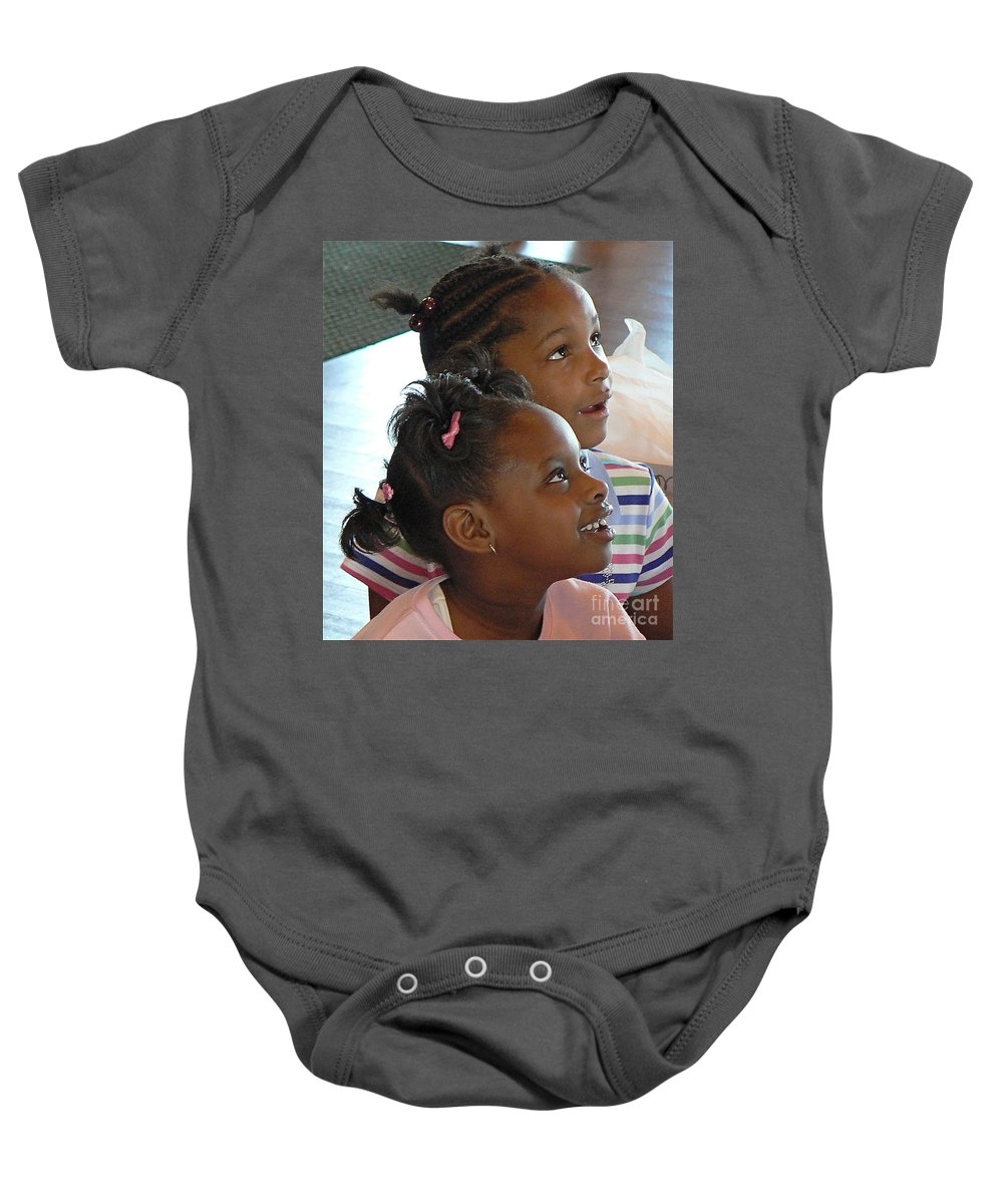 Happy Baby Onesie featuring the photograph It's For You by Dona Dugay