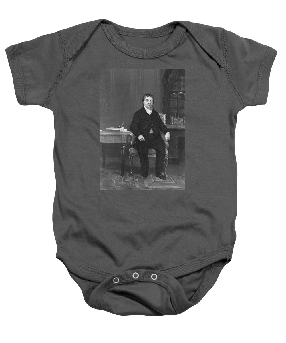 1864 Baby Onesie featuring the photograph John Jacob Astor by Underwood Archives