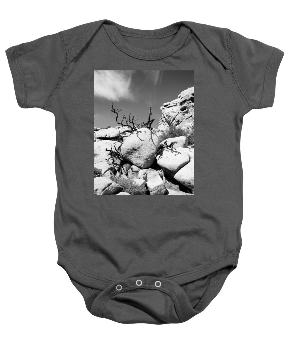 Joshua Tree Baby Onesie featuring the photograph Joshua Tree 25 by Alex Snay