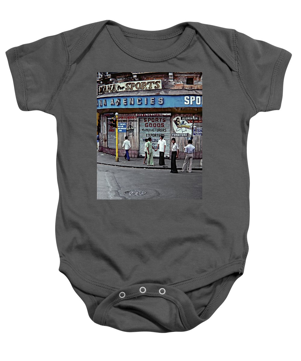 India Baby Onesie featuring the photograph Just Buddies by Steve Harrington