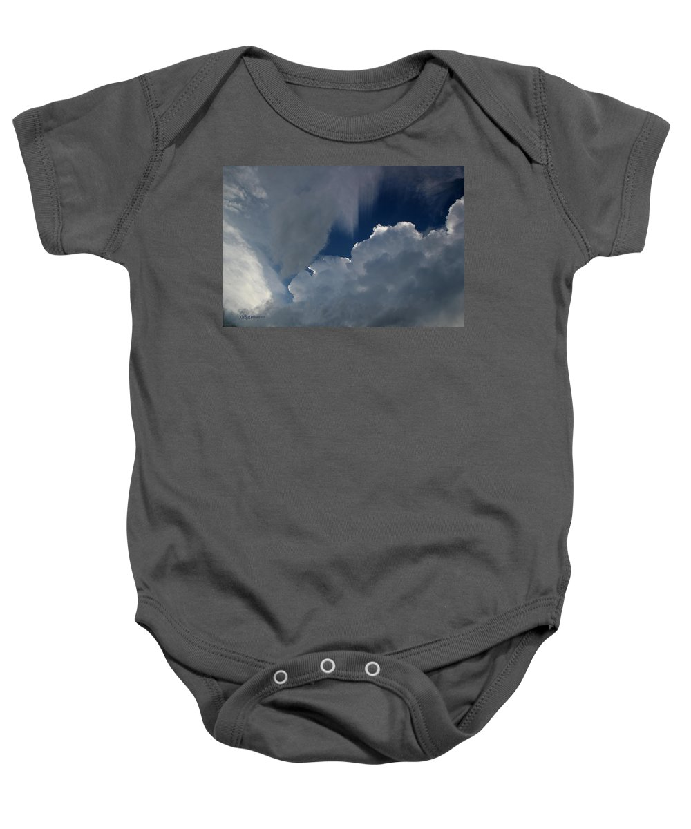 Clouds Baby Onesie featuring the photograph Kotc - Kiss On The Cheek by Ericamaxine Price