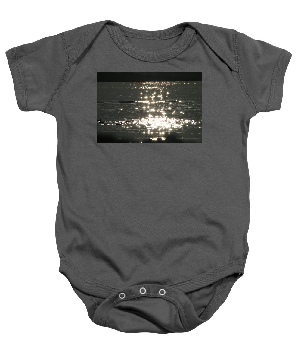 Lake Baby Onesie featuring the photograph Lake Sunset by David S Reynolds
