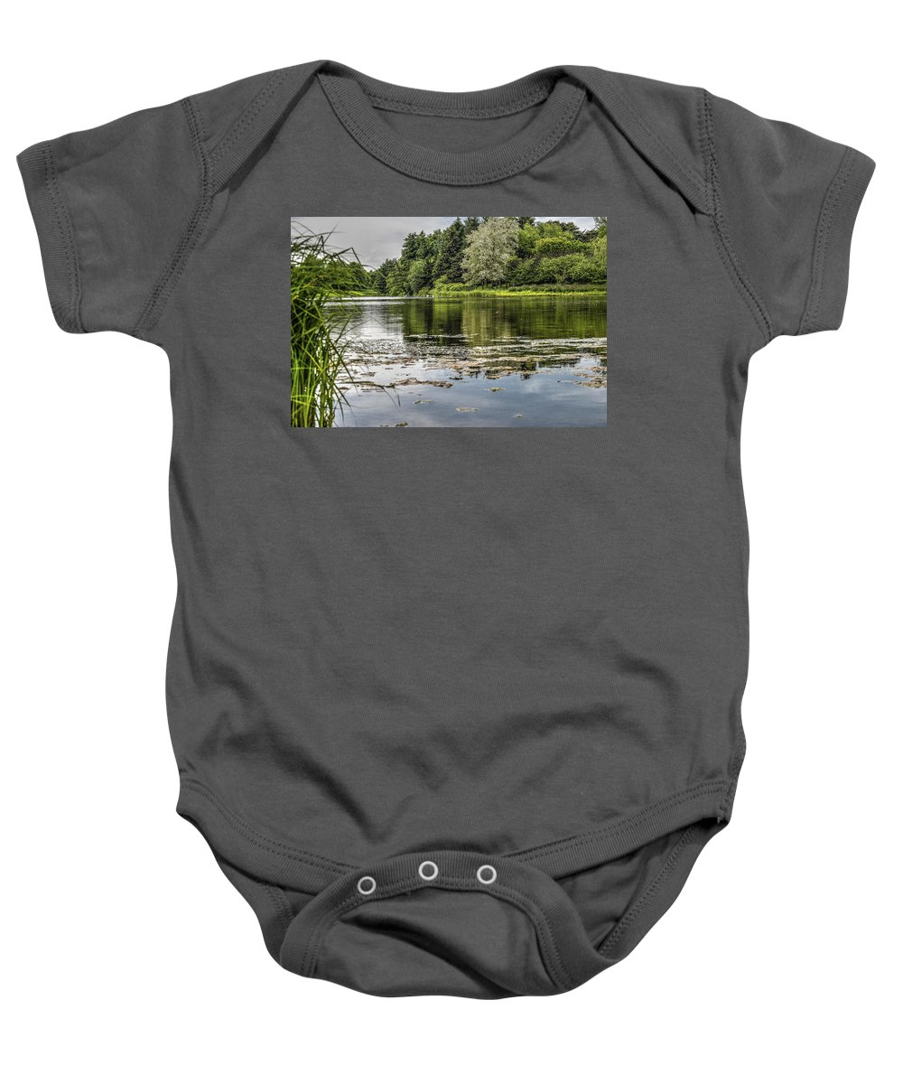 Nature Scene Baby Onesie featuring the photograph Lake View by Patrick Warneka