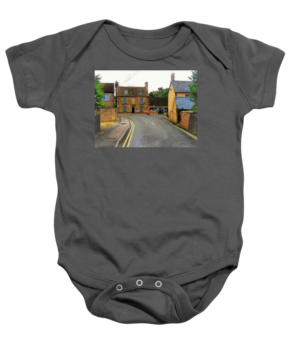 Rightfromtheart Baby Onesie featuring the photograph Lakenheath by Bob and Kathy Frank