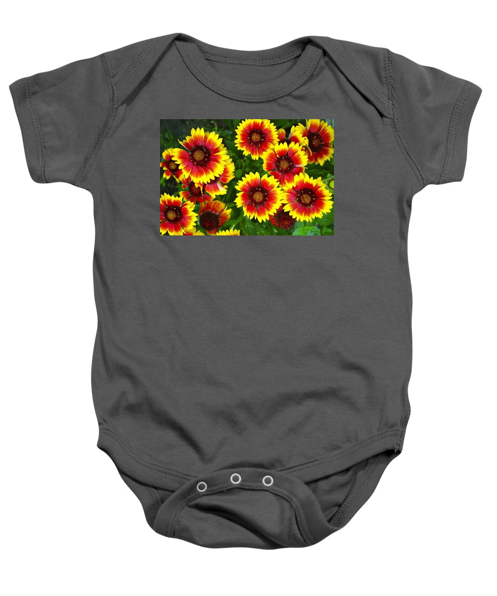 Layered Baby Onesie featuring the photograph Layers by Frozen in Time Fine Art Photography