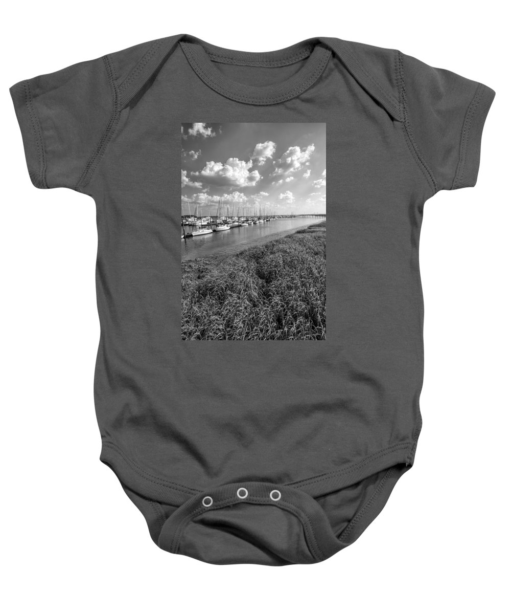 Sailboats Baby Onesie featuring the photograph Let's Raise The Sails by Kathy Clark