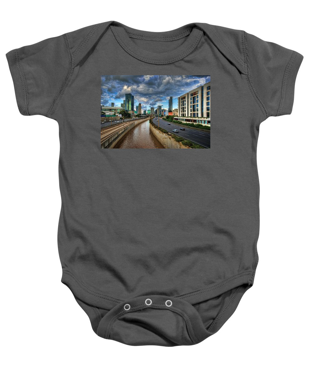 Israel Baby Onesie featuring the photograph Life In The Fast Lane by Ronsho
