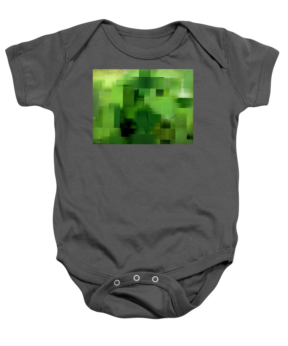 Tropical Baby Onesie featuring the digital art Life's Color by Lourry Legarde