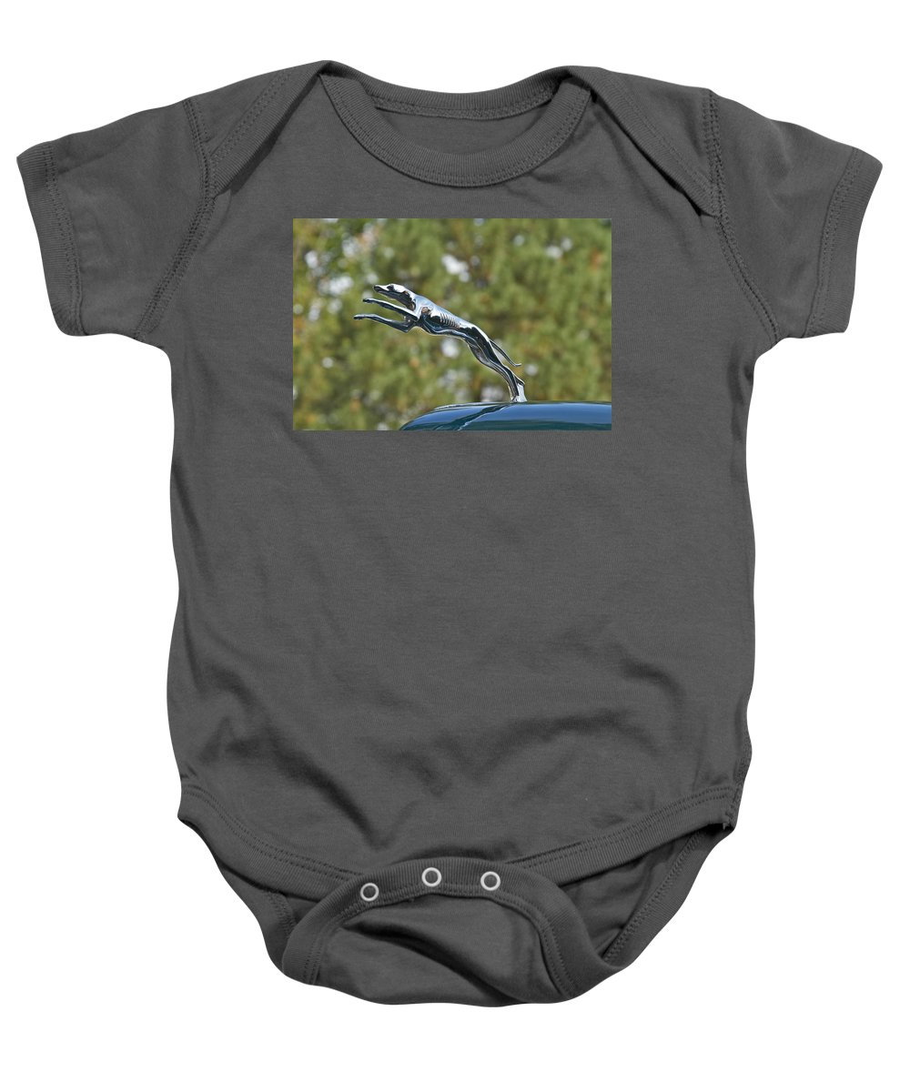 Glenmoor Baby Onesie featuring the photograph Lincoln by Jack R Perry