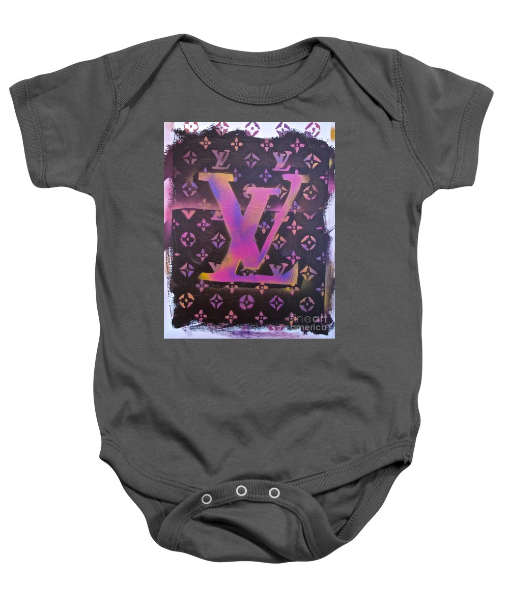 b7c96f66d Louis Vuitton Baby Onesie featuring the painting Louis Vuitton Print by  Tony B Conscious