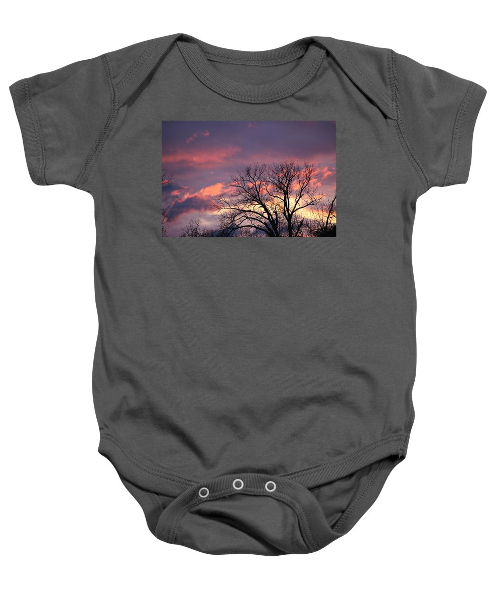 Cloud Baby Onesie featuring the photograph Lovely Pastels by Mose Mathis