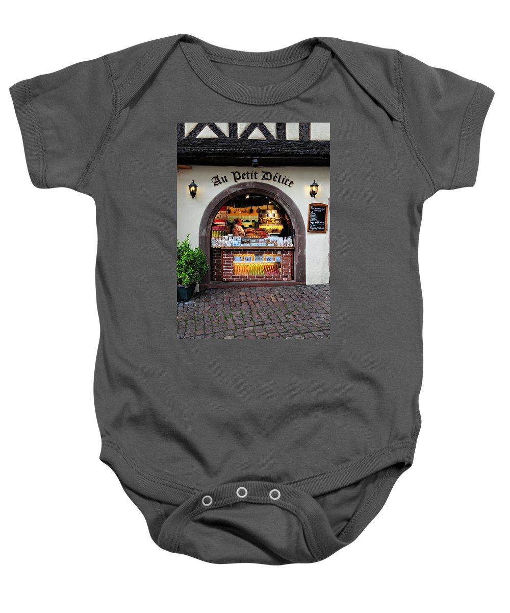 Macaroons Baby Onesie featuring the photograph Macaroons by Dave Mills