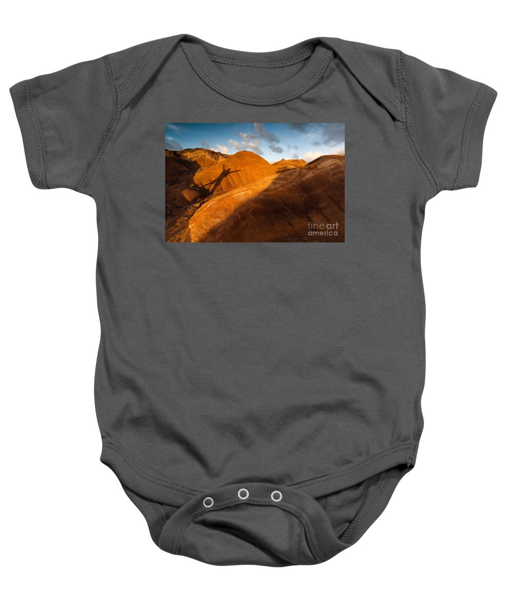 Man Baby Onesie featuring the photograph Man On Mars by Matteo Colombo