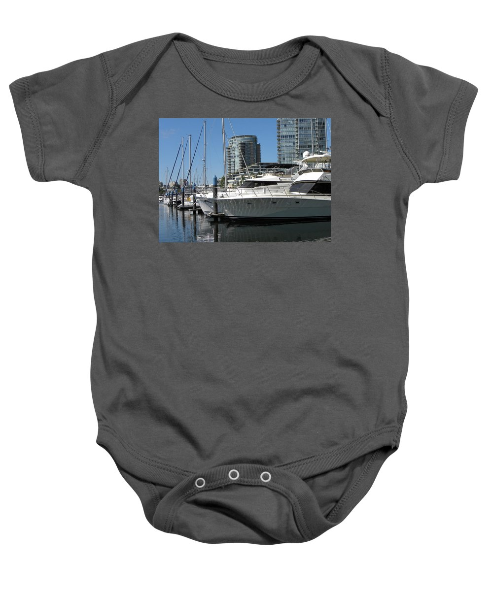 Sail Baby Onesie featuring the photograph Martini Time by Brigitte Mueller