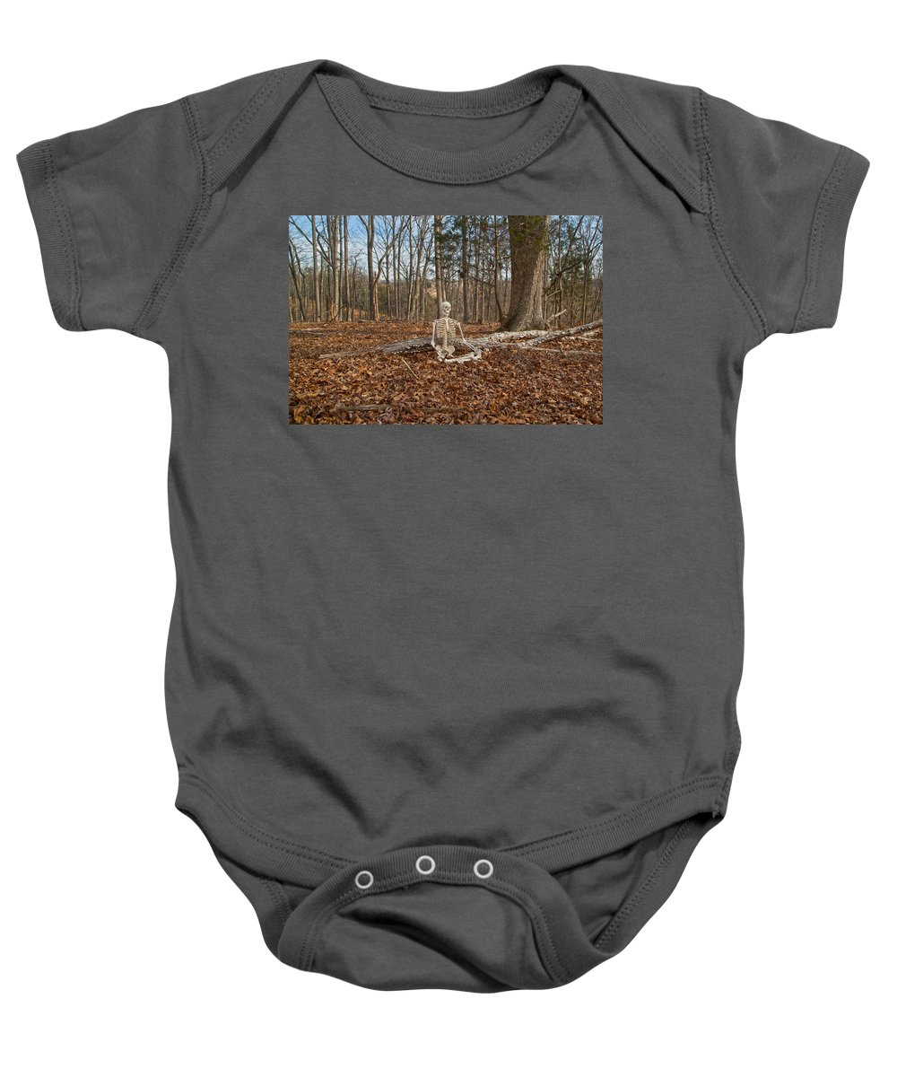Human Baby Onesie featuring the photograph Medical Leave by Betsy Knapp
