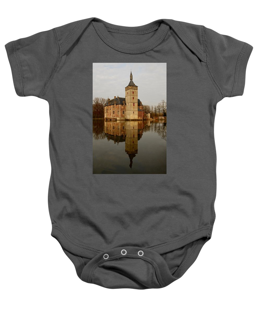 Ancient Baby Onesie featuring the photograph Medieval Castle by TouTouke A Y