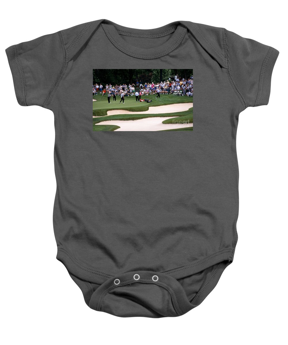 Memorial Tournament Baby Onesie featuring the photograph 12w192 Memorial Tournament Photo by Ohio Stock Photography