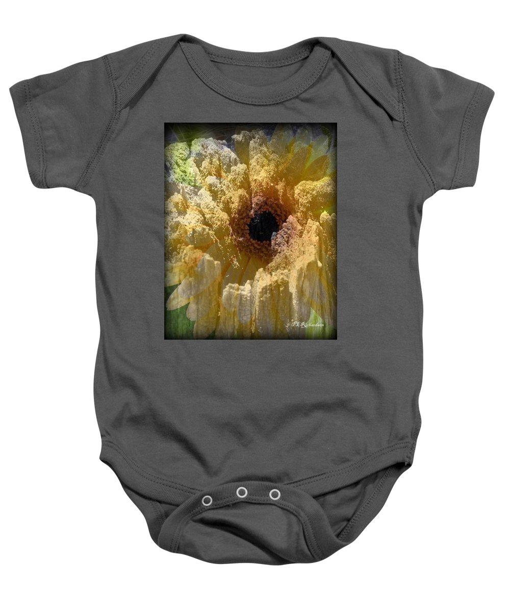 Molten Baby Onesie featuring the photograph Molten by Priscilla Richardson