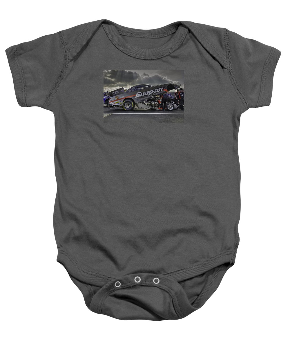 San Baby Onesie featuring the photograph Moments In The Light by Chris Sarenana