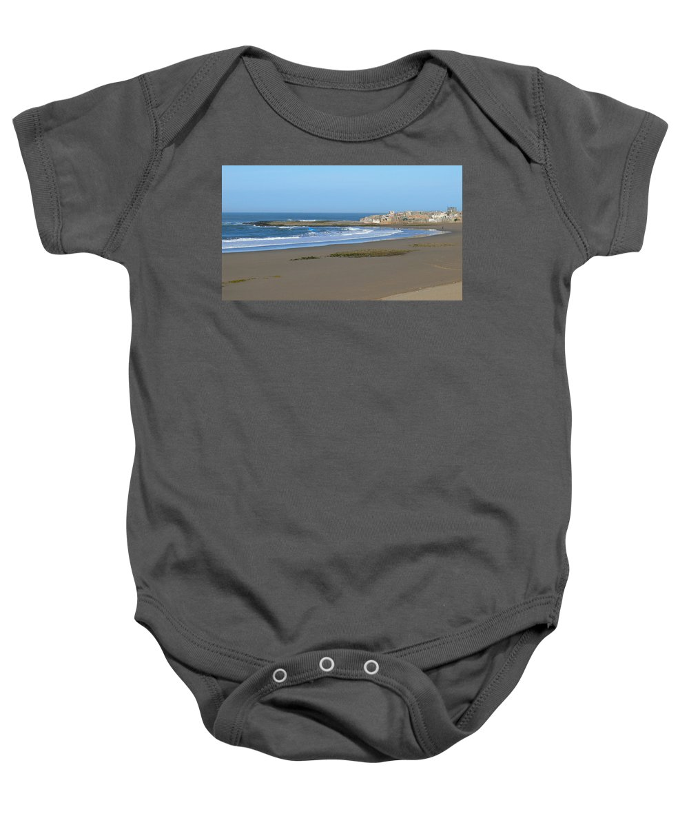 Agadir Baby Onesie featuring the photograph Moroccan Fishing Village by Tracy Winter