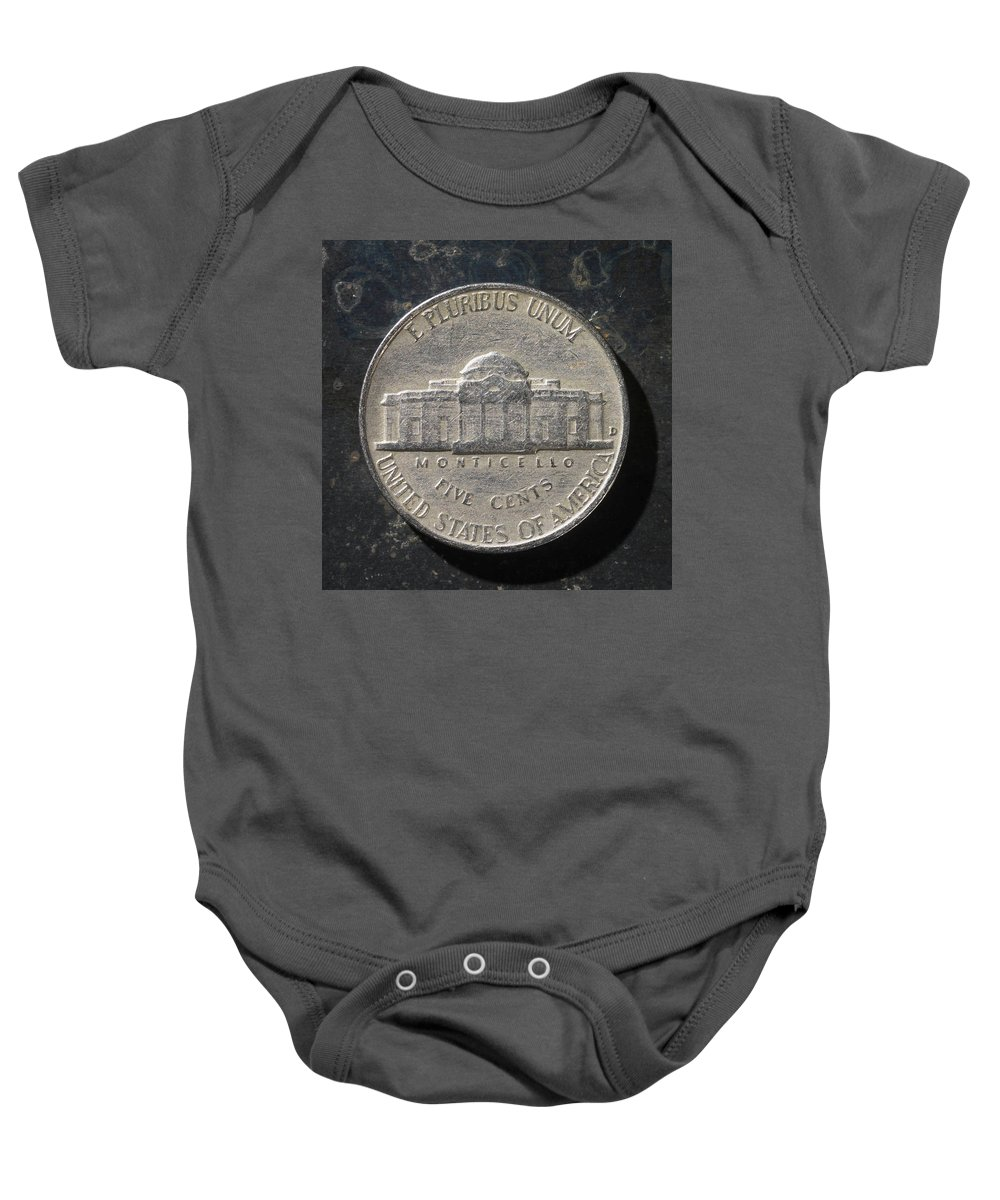Americana Baby Onesie featuring the photograph N 1959 A T by Robert Mollett