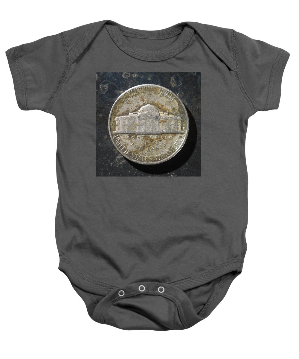 Americana Baby Onesie featuring the photograph N 1963 A T by Robert Mollett