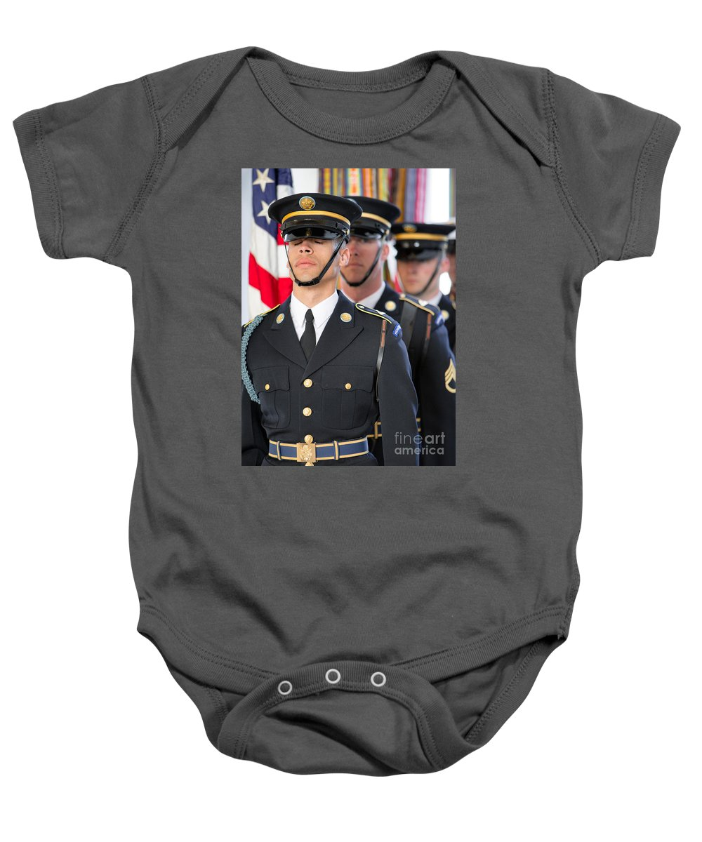 Washington Dc Baby Onesie featuring the photograph Napping On The Job by Jerry Fornarotto