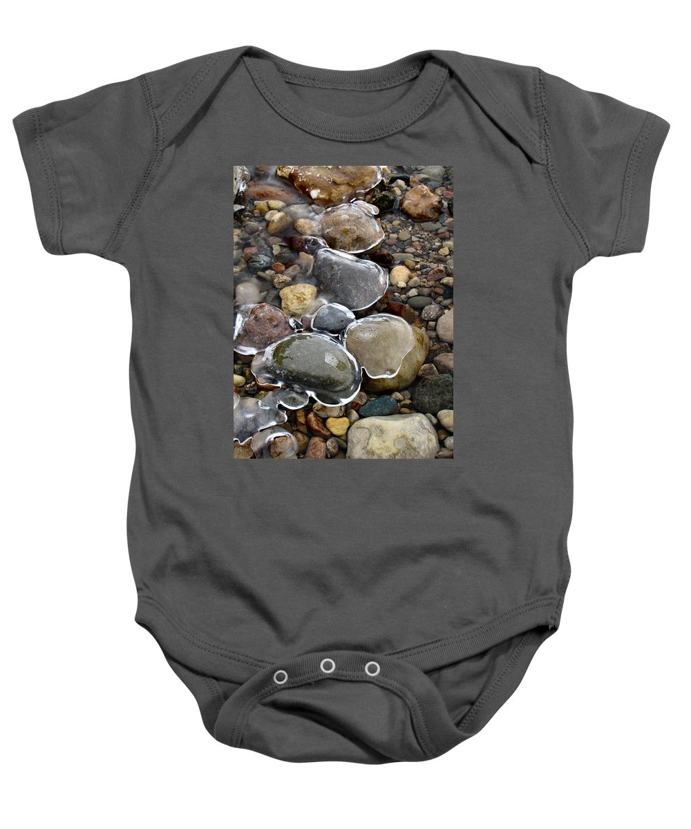 Nature Baby Onesie featuring the photograph Nature's Artwork 2 by Michael Tucker