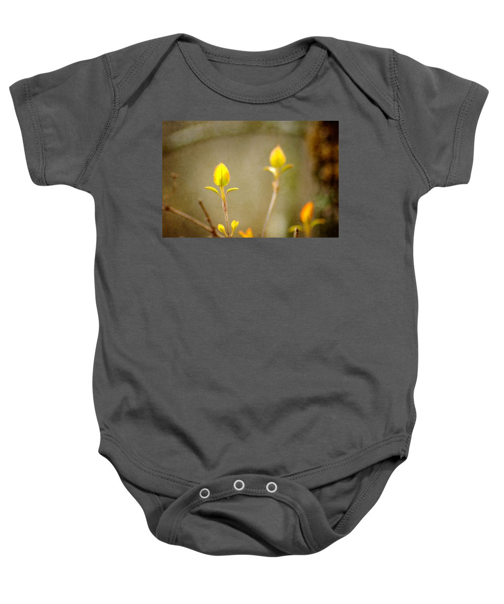 Forest Baby Onesie featuring the photograph New Beginnings by Bill Pevlor