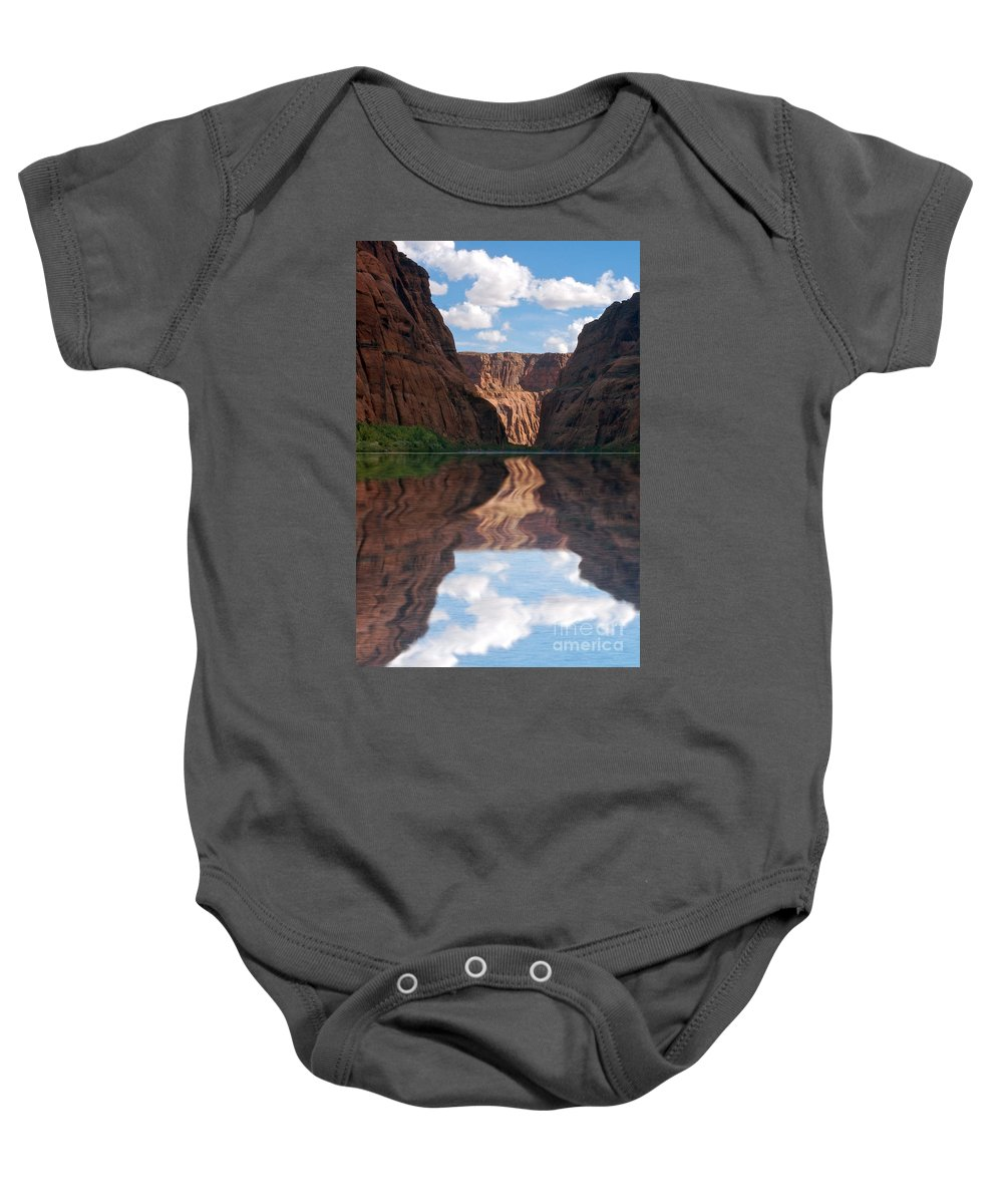 Canyon Baby Onesie featuring the photograph New Photographic Art Print For Sale Grand Canyon 16 by Toula Mavridou-Messer