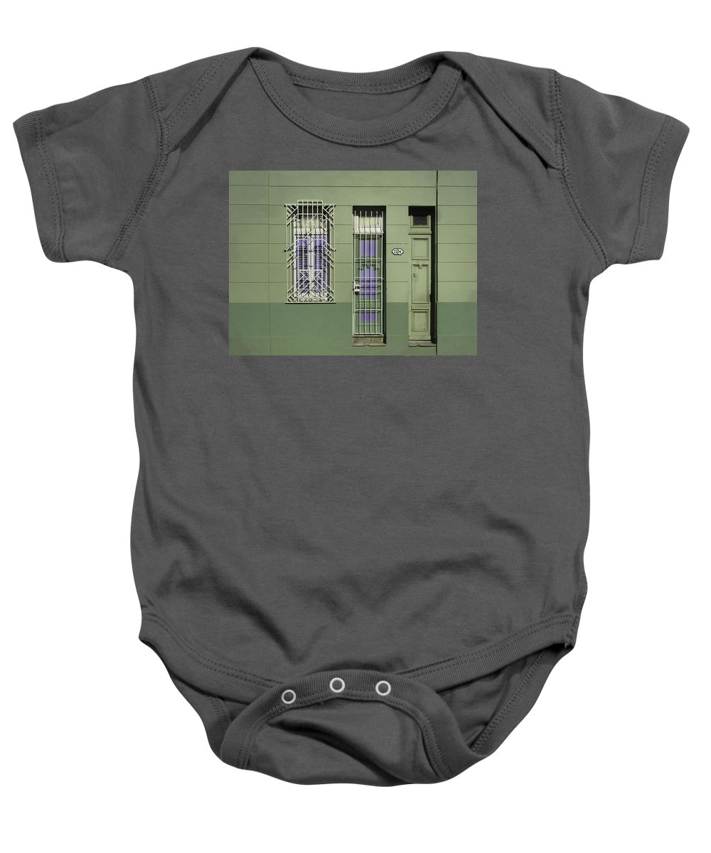 Habana Baby Onesie featuring the photograph Next Door To Ernies by A Rey