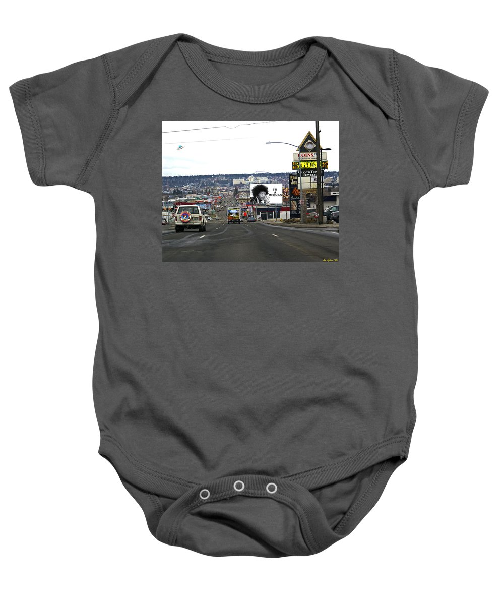 City Baby Onesie featuring the photograph Normal Day by Ben Upham III