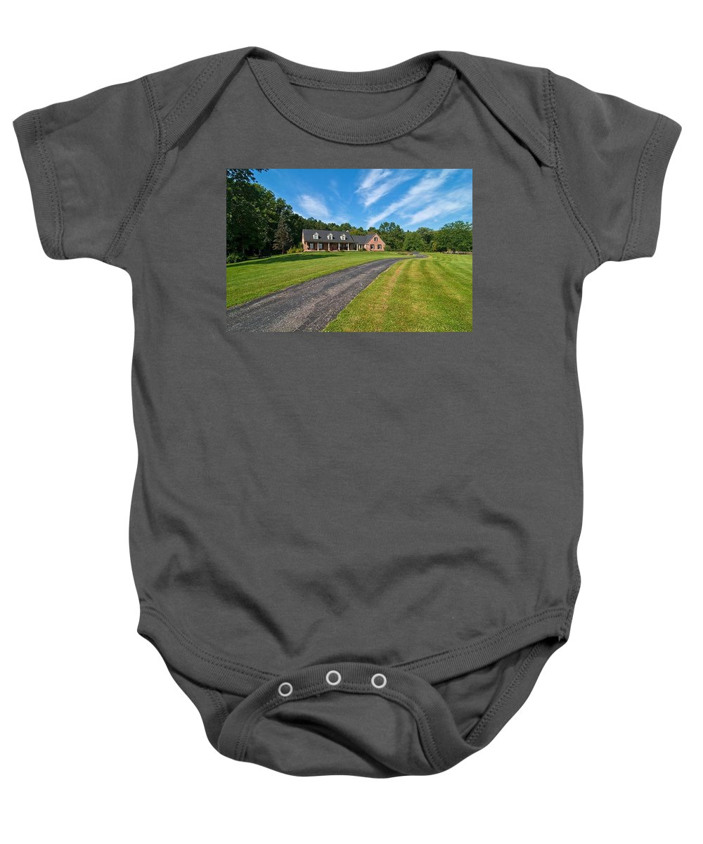 Baby Onesie featuring the photograph Number Four by Randall Branham