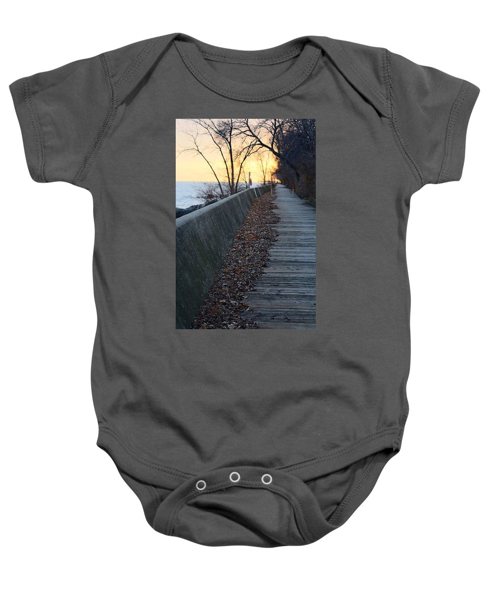Centre Island Baby Onesie featuring the photograph Old Memories by Munir Alawi