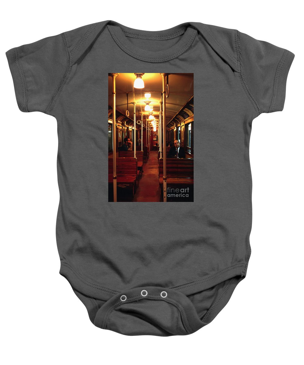 Subway Baby Onesie featuring the photograph Old Subway In Buenos Aires by Rafael Macia