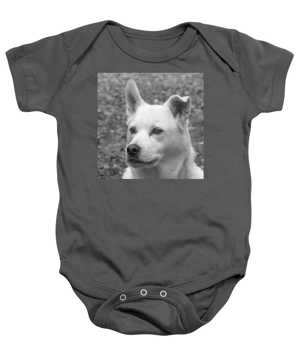 Guy Whiteley Photography Baby Onesie featuring the photograph One Up One Down by Guy Whiteley