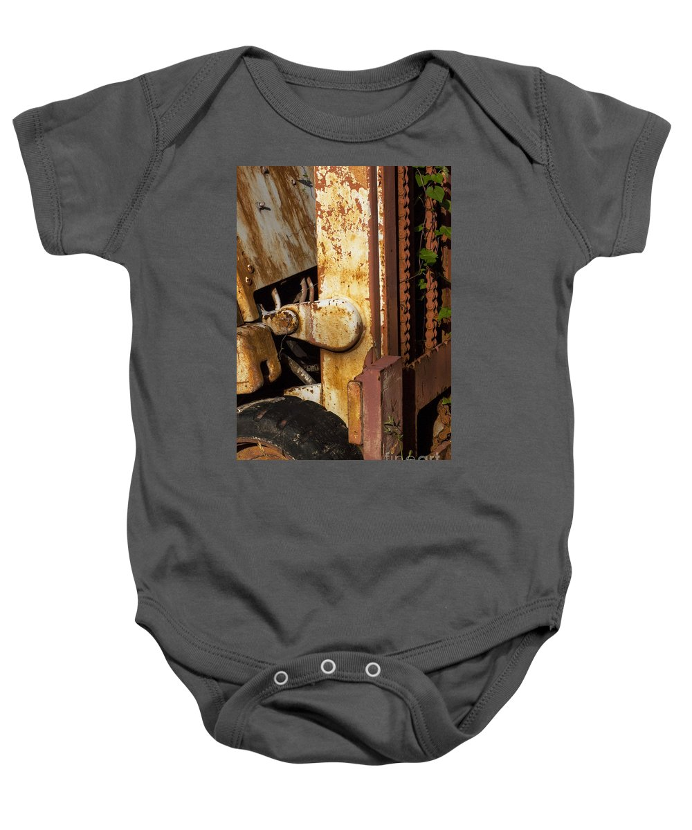 Georgetown Baby Onesie featuring the photograph Out Of Commission by Bob Phillips