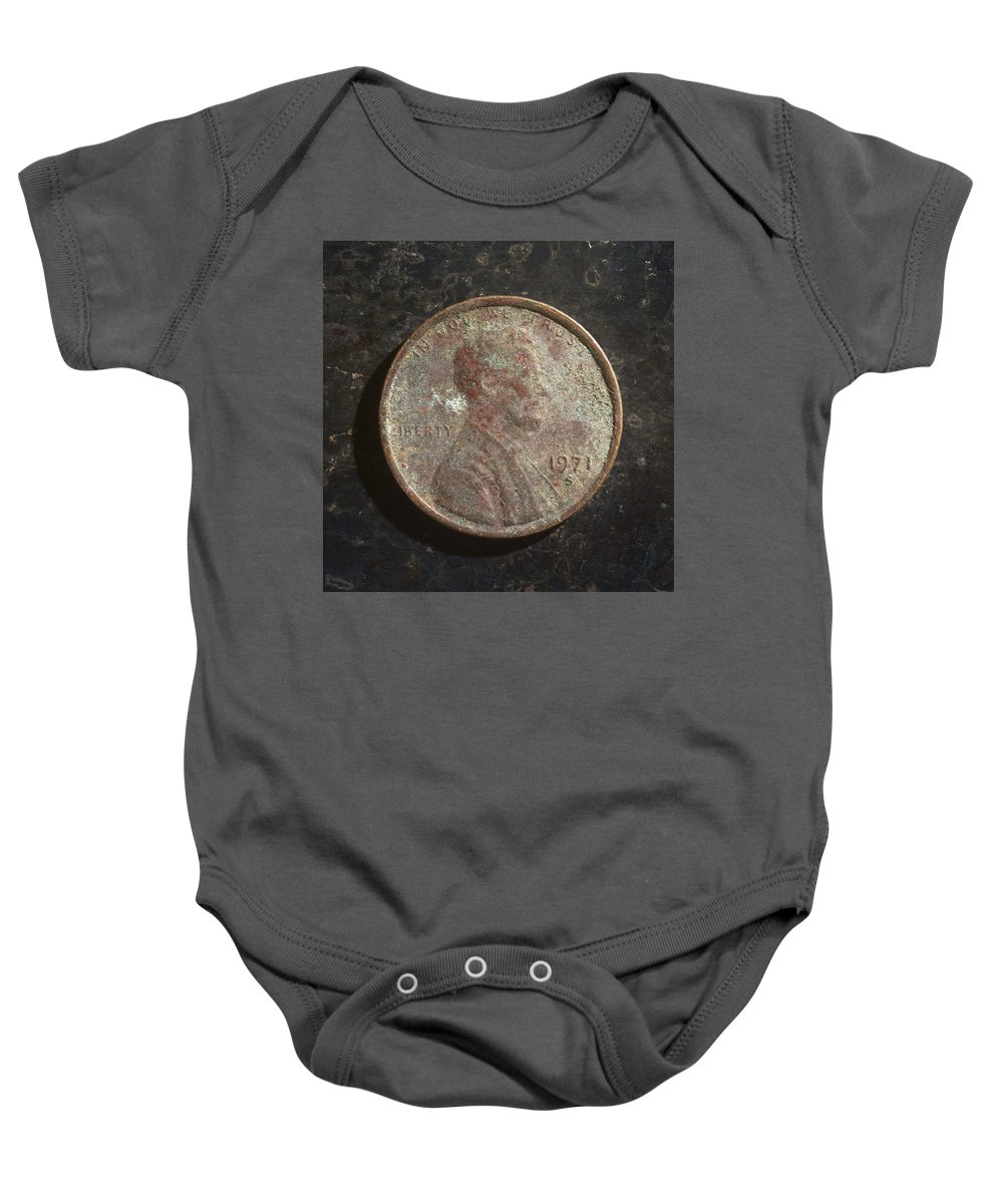 Americana Baby Onesie featuring the photograph P1971 B H by Robert Mollett