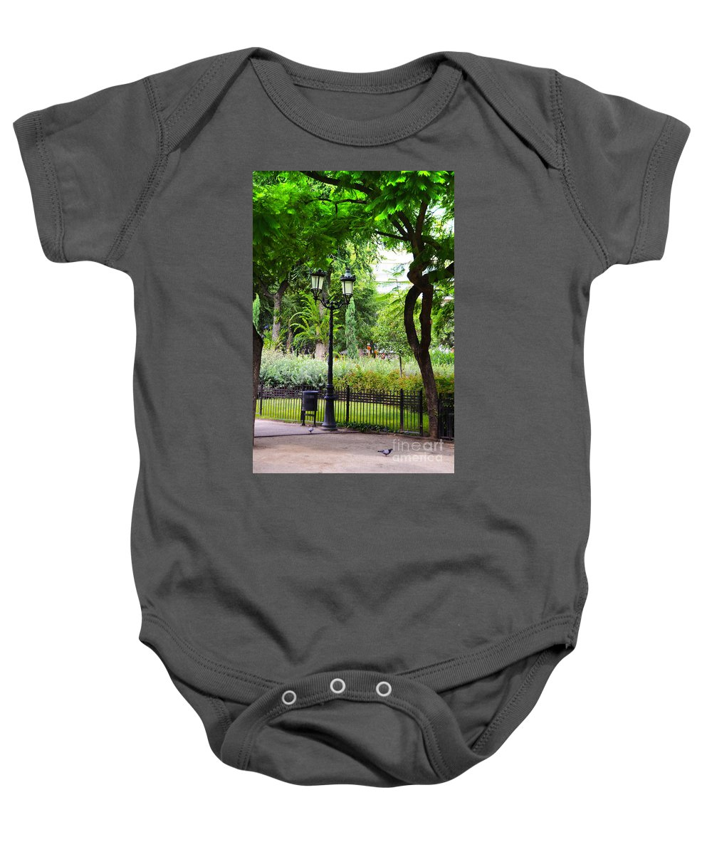Park Baby Onesie featuring the photograph Park And Gardens by Phill Petrovic