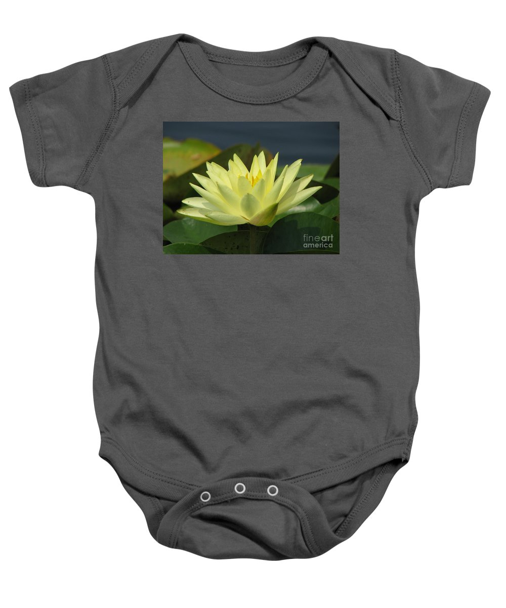 Lillies Baby Onesie featuring the photograph Peace by Amanda Barcon