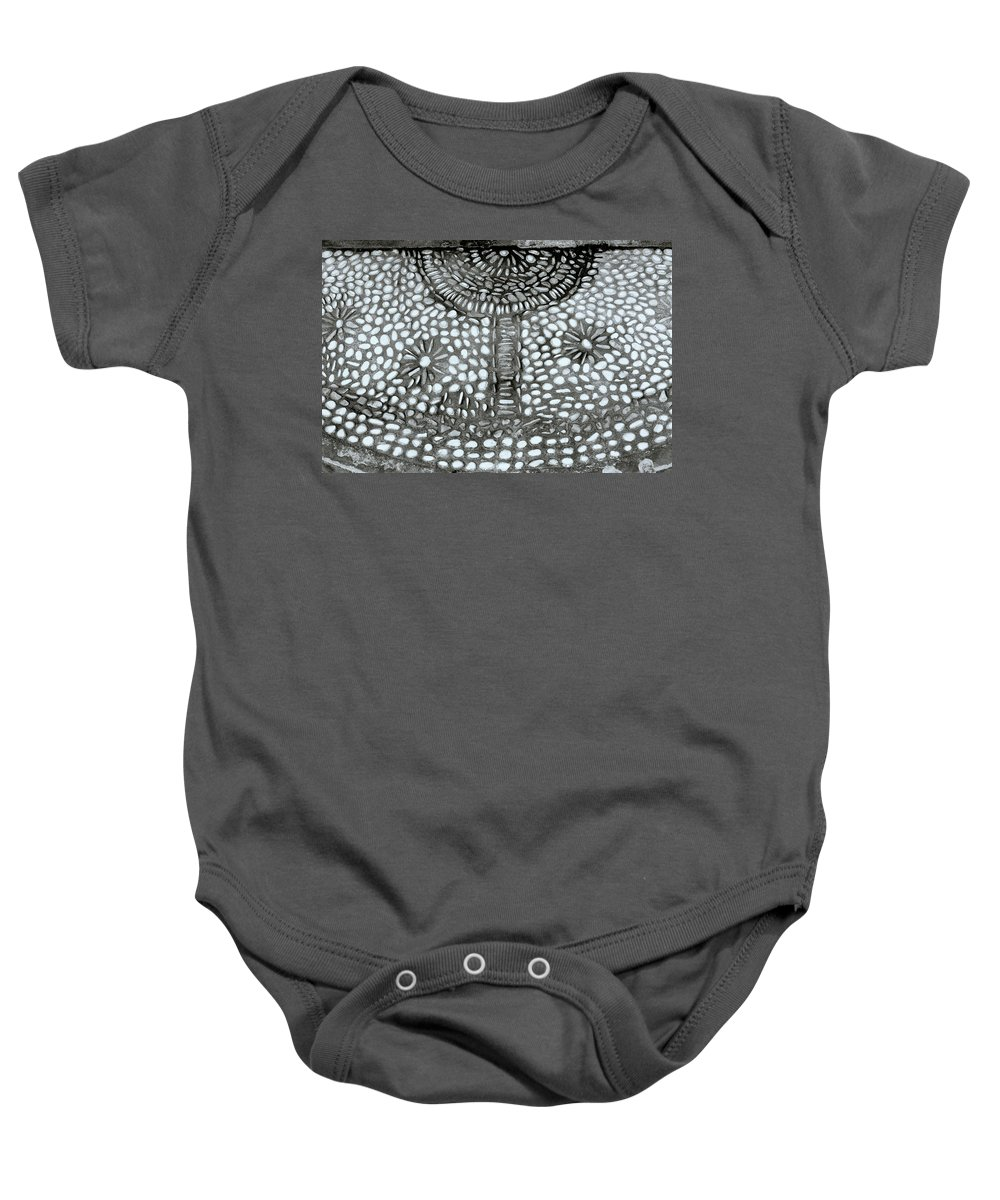 Bali Baby Onesie featuring the photograph Pebbles by Shaun Higson