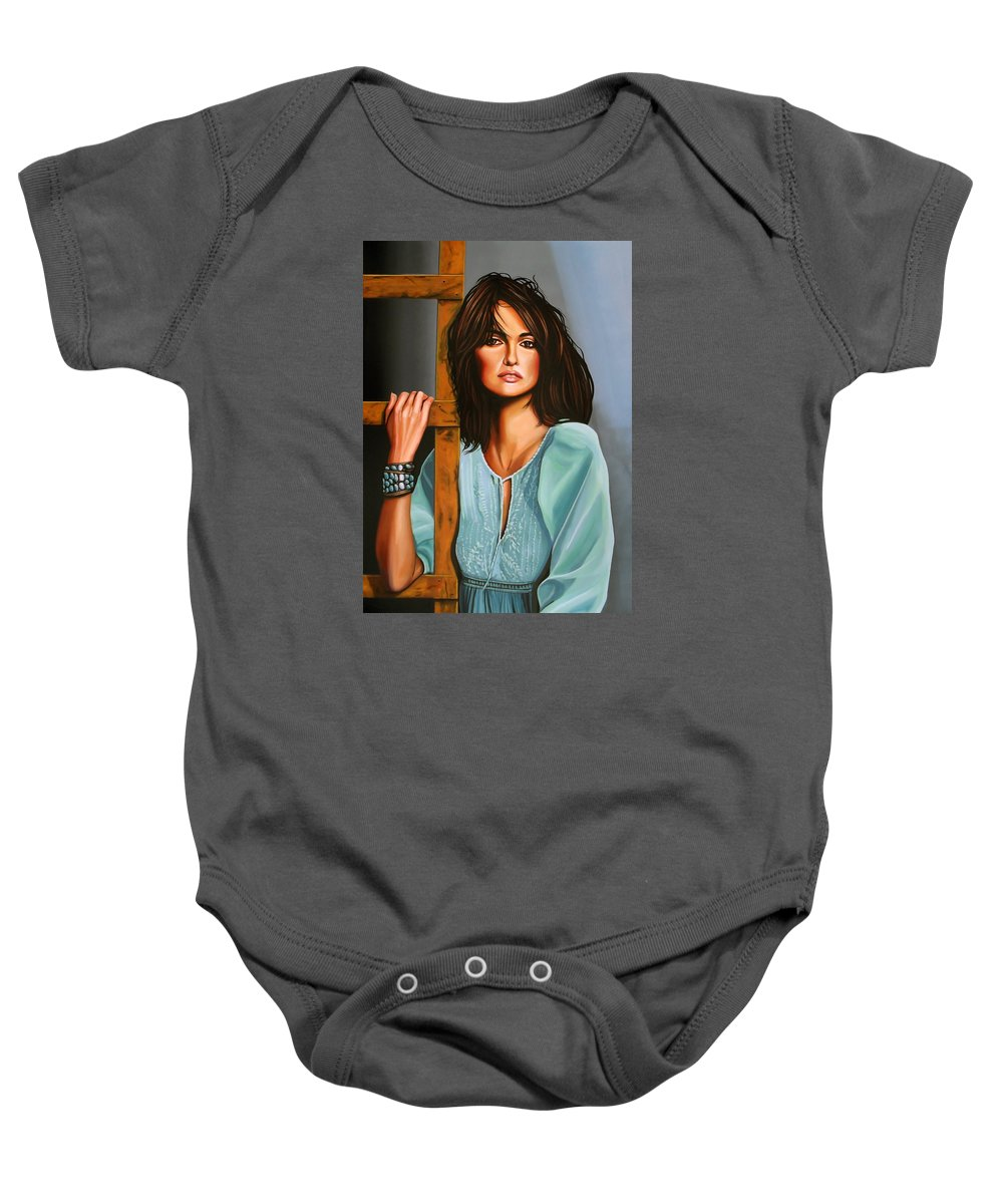 Sex And The City Paintings Baby Onesies