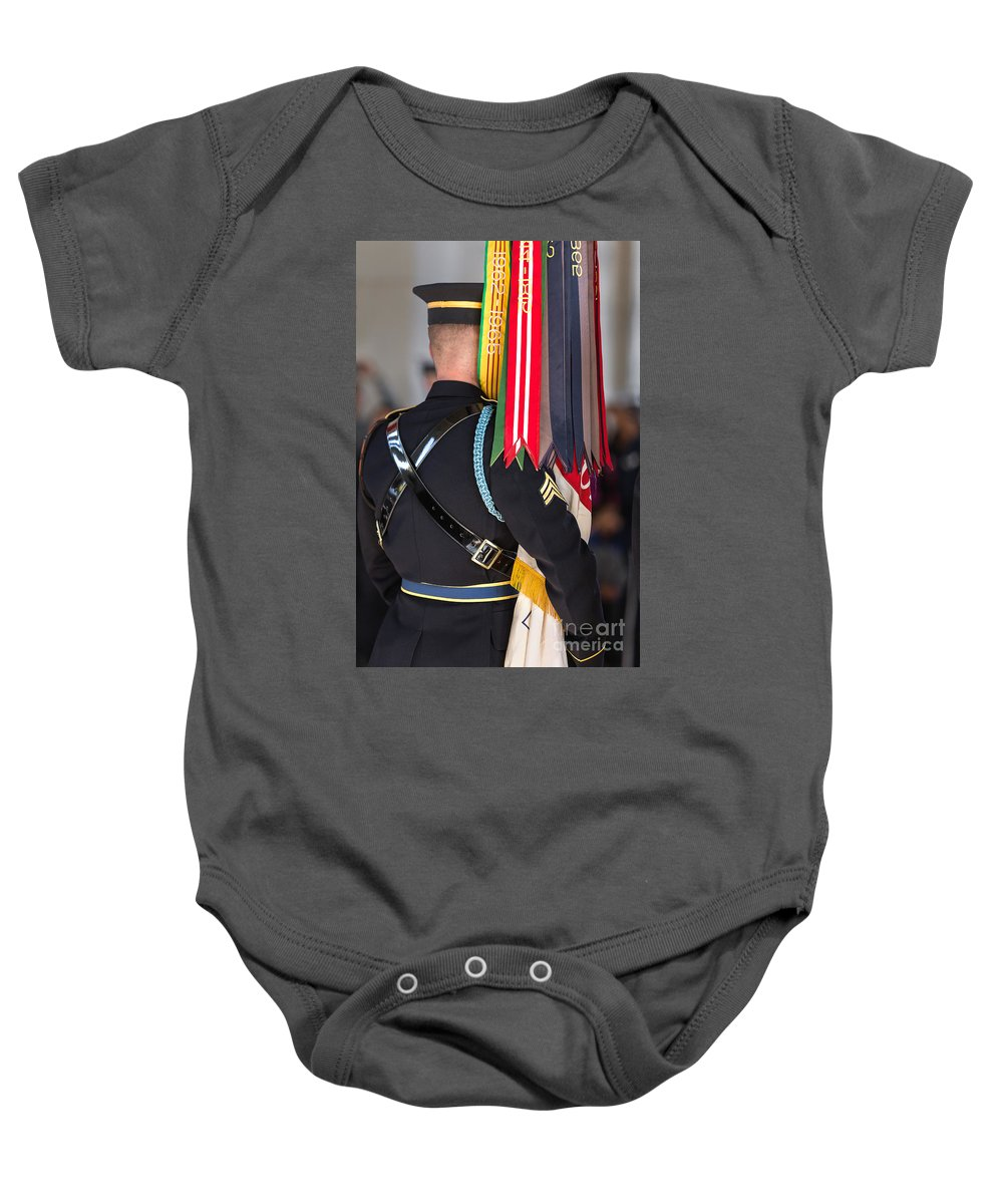 Washington Dc Baby Onesie featuring the photograph Pennants by Jerry Fornarotto