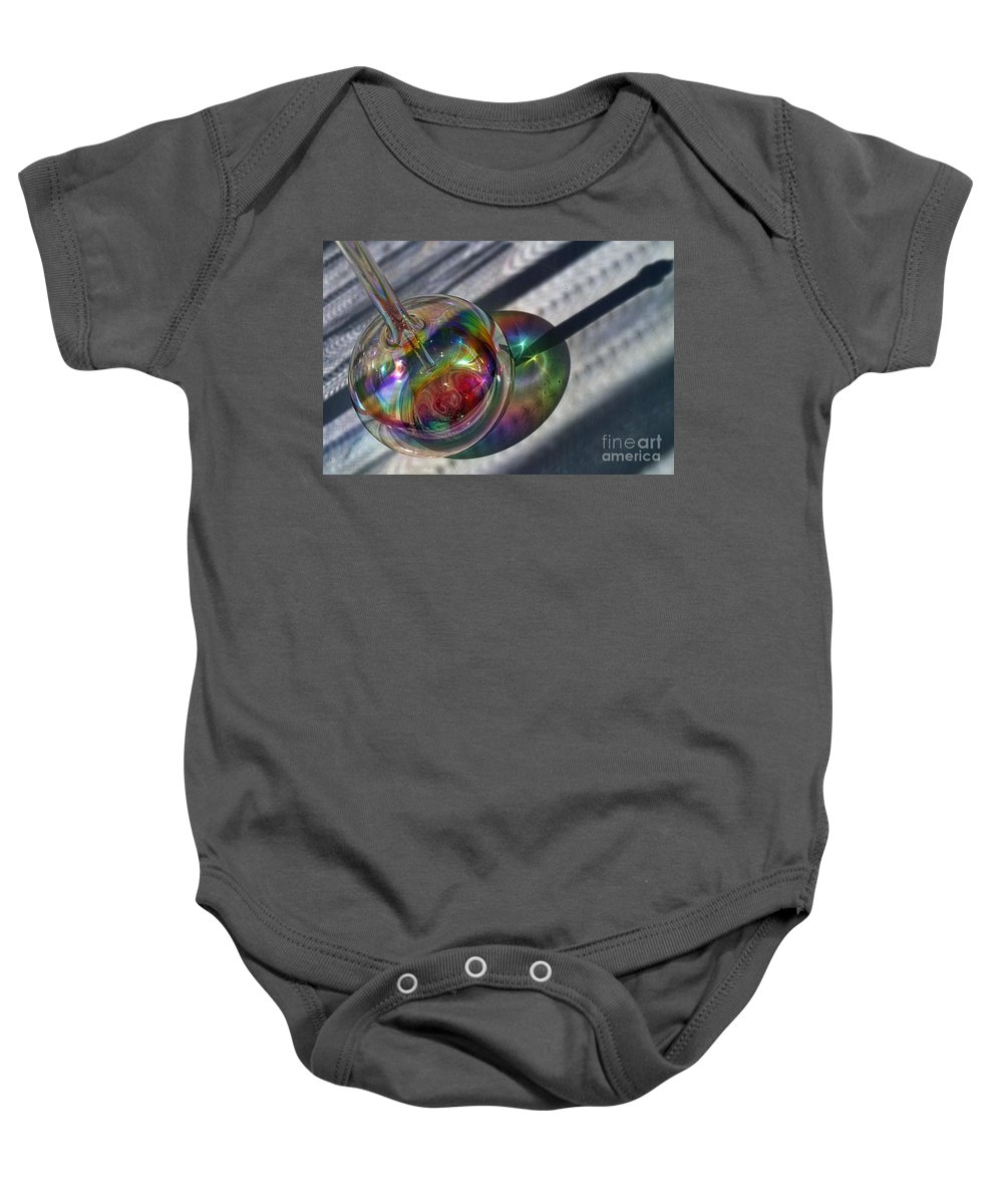Panasonic Baby Onesie featuring the photograph Playing With The Light by Susie Peek