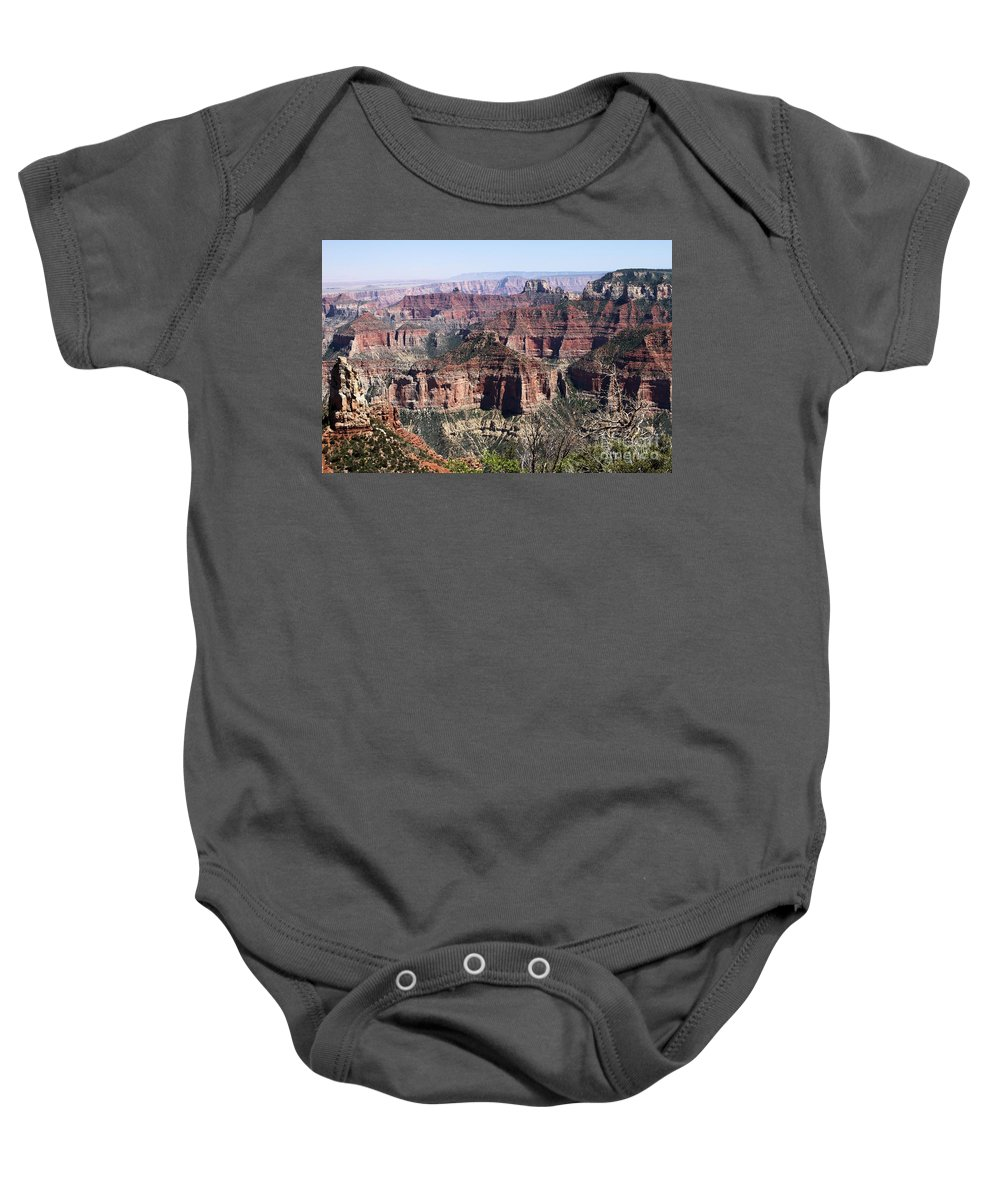 Point Imperial Baby Onesie featuring the photograph Point Imperial by Adam Jewell