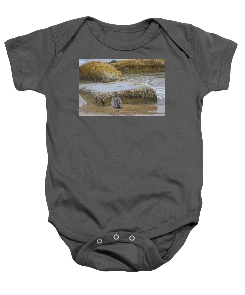 Ocean Baby Onesie featuring the photograph Different Point Of View by Becca Buecher