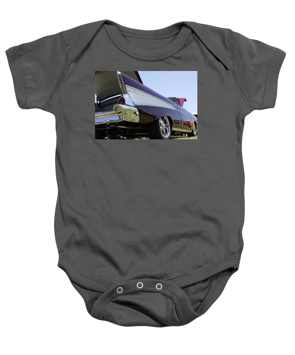 Chevy Bel Air Baby Onesie featuring the photograph Purple And Sexy by Shoal Hollingsworth